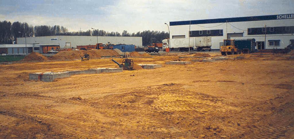 1996 wurde der Grundstein für den heutigen Firmenstandort der Autoteile Post AG gelegt.