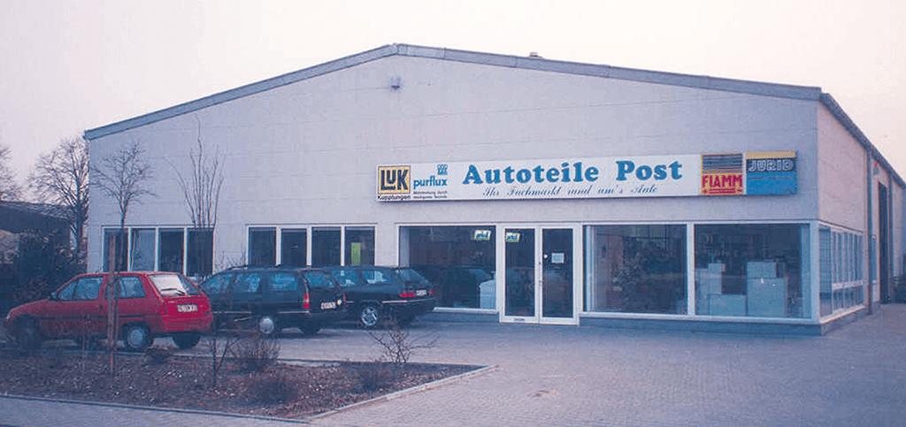 Autoteile Post erhöht die Lagerkapazität zum ersten Mal im Jahr 1991