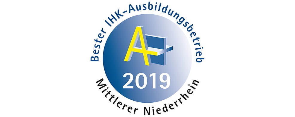 """IHK-Auszeichnung """"Bester Ausbildungsbetrieb 2019"""" für die Autoteile Post AG"""